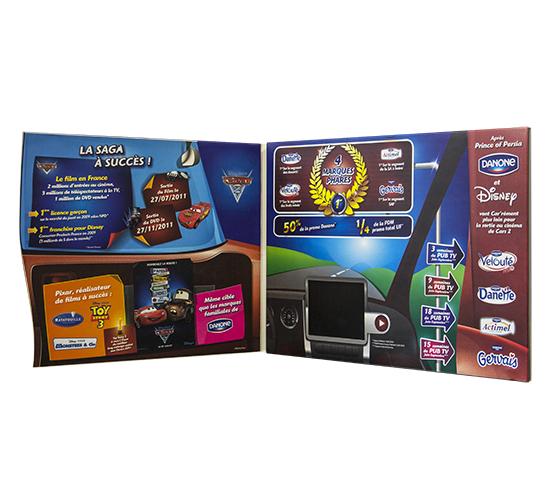 Imprimé Video® Danone & Disney • Opération de promotion