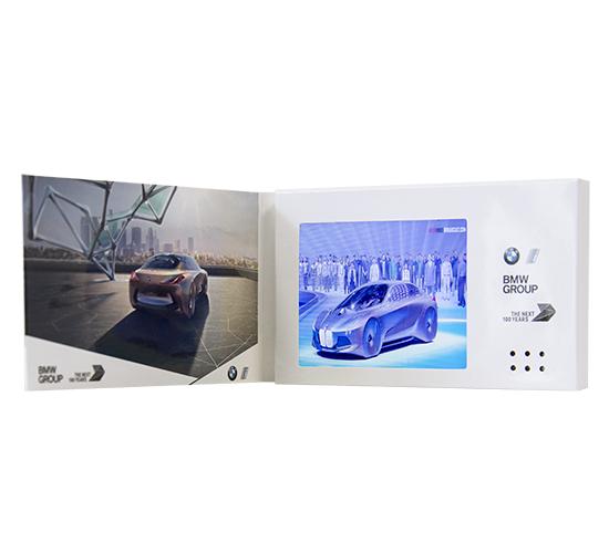 Imprimé video® carte de visite 3 pouces HD