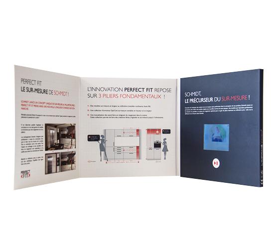 Imprimé video® chronopost 7 pouces
