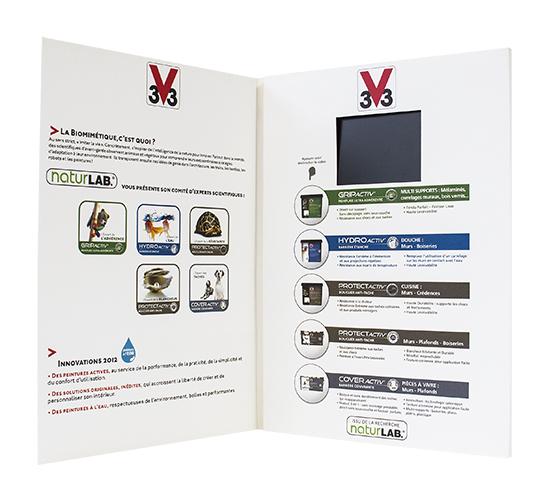 Imprimé Video® V33 • Opération de promotion