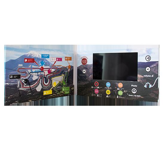 Mini Imprimé Video® Toyota • Personnalisable