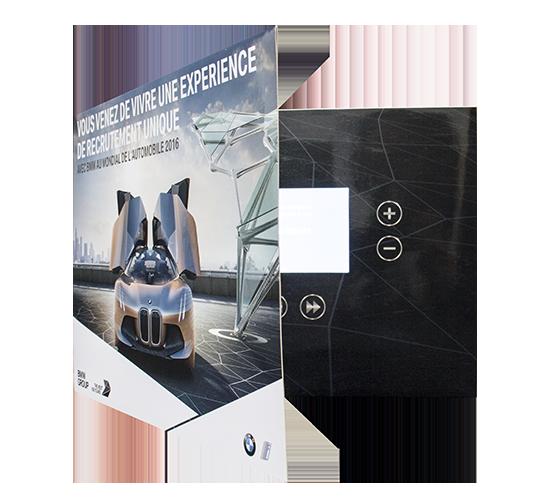 Imprimé Video® BMW XL •Personnalisable