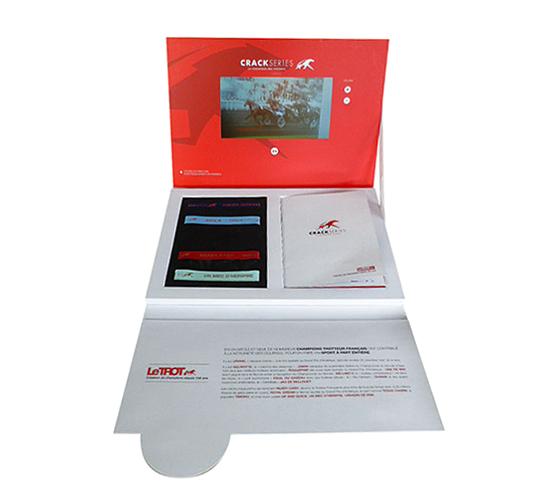 Imprimé Video® Le Trot • Coffret lancement d'opération