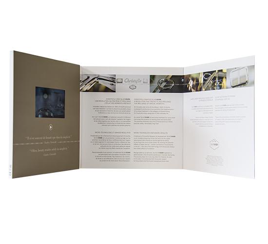 Imprimé Video® Christofle • Luxe carré 3 volets