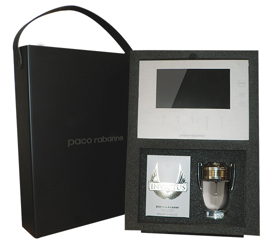 Coffret Imprimé Video® Paco Rabanne • Parfum