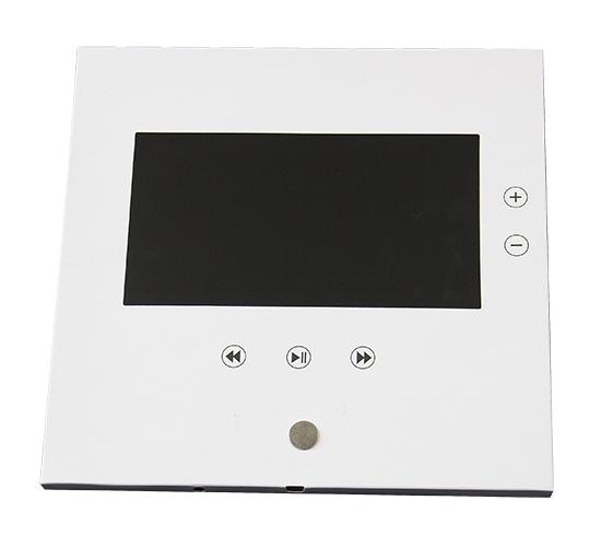 Bloc Imprimé Video® 7 pouces carré 210x210 mm