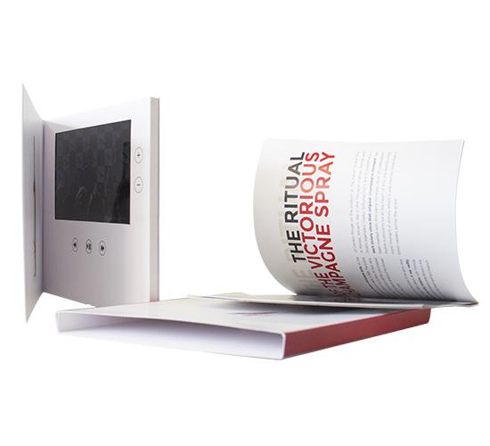 Imprimé Video® Muum 7 pouces • Luxe livret intégré + Fourreau